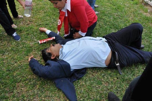 ناآرامی در تونس در پی ترور سیاستمدار مخالف دولت