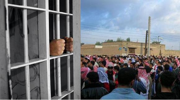 اعتصاب غذاى 3 فعال بازداشت شده عرب اهوازى و انتقال 2 نفر آنها به بيمارستان