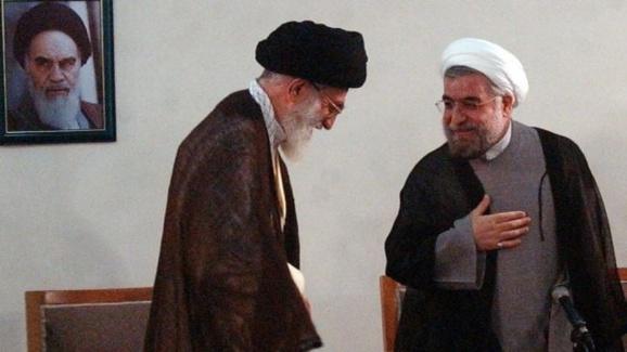 وتوی ۴ وزیر کلیدی روحانی توسط خامنه ای