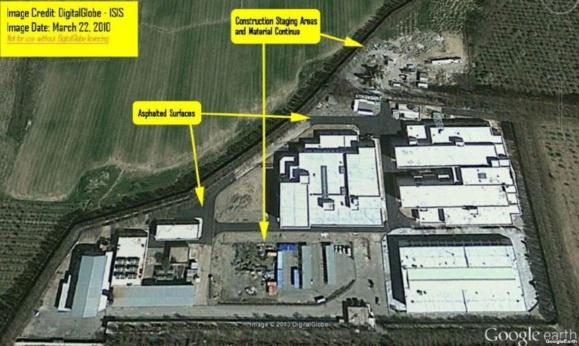 لشکر آباد و «ساخت وساز وسیع در مرکز سابق غنیسازی لیزری ایران»