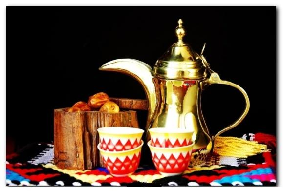 ظرف و استکان قهوه خوری نزد مردم عرب
