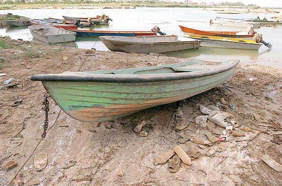 لب كارون خشك است، باز بحران در پرآبترین رود ایران/نادره وائلیزاده
