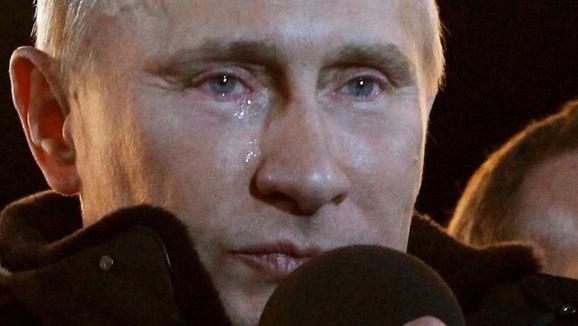 دو دقیقه ناسزاگویی به پوتین در تلویزیون روسیه