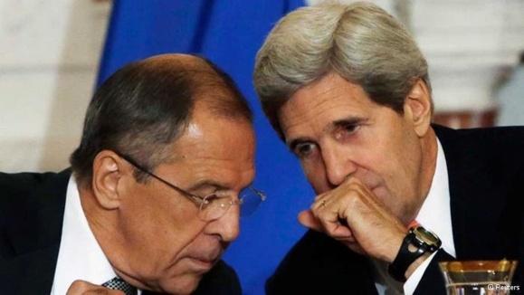 تلاش مشترک روسیه و آمریکا برای حل بحران سوریه