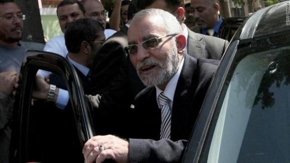 محمد بديع مرشد ورهبر اخوانالمسلمین مصر بازداشت شد