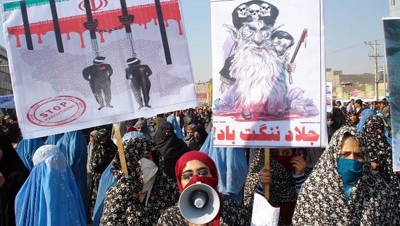 اعتراضات مردمی در شهر هرات افغانستان به «فساد» در کنسولگری ایران+عکس