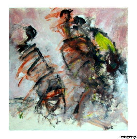 جلال سرفراز، شاعر و نقاش ایرانی مقیم برلین: میان شعر و نقاشی پیوند است