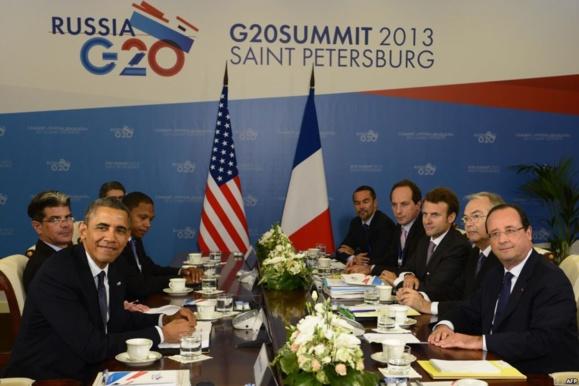 حمایت یازده کشور عضو گروه ۲۰ از اقدام درباره حمله شیمیایی در سوریه