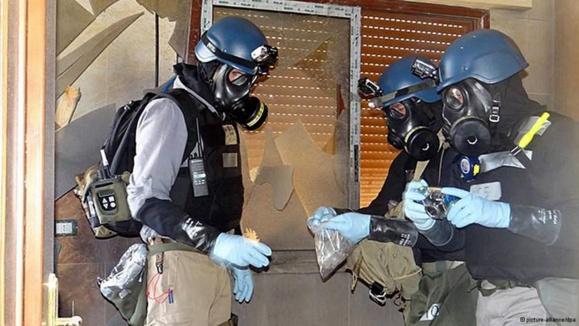 بازرسان سازمان ملل کاربرد سلاح شیمیایی در سوریه را تایید میکنند