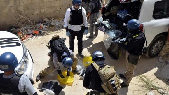 """دبیرکل سازمان ملل حمله شیمیایی در سوریه را """"جنایت جنگی"""" خواند"""