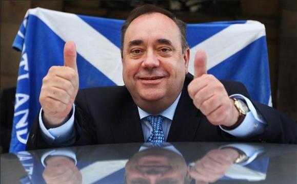 وزیر اول از مردم خواسته است تا در همه پرسی به استقلال اسکاتلند رای دهند