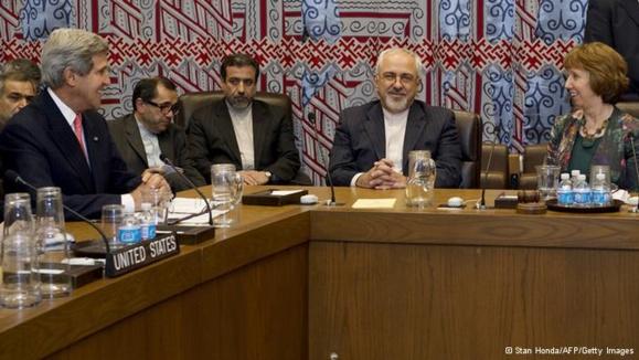دیدار وزیران امور خارجه ایران و آمریکا بعد از ۳۴ سال