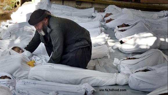 نابودی سلاح های شيميايی بشار اسد توسط بازرسان سازمان ملل متحد آغاز شد