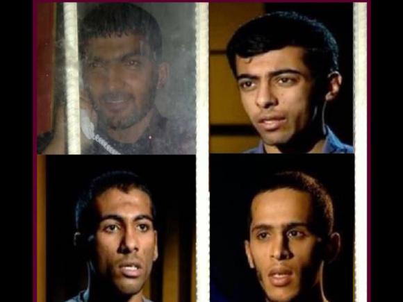 انتقال ٩ تن از فعالان عرب اهوازي به تبعيد و وثيقه هاي سنگين براي فعالان اهل سنت