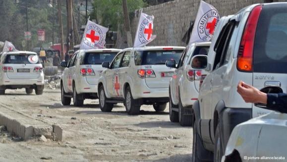 مهاجمان مسلح هفت امدادگر صلیب سرخ را در سوریه به گروگان گرفتند