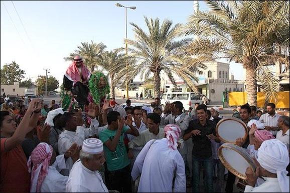 جشن عروسی در جزیره عرب نشین قشم