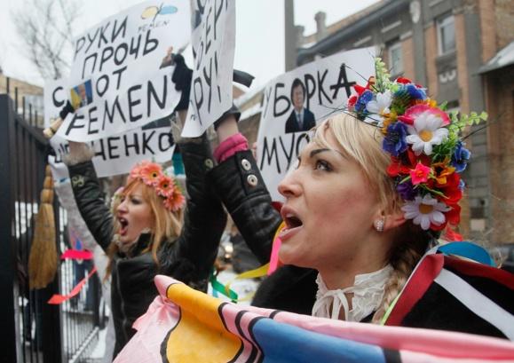 «اوکراین فاحشه خانه نیست»؛ افشای راز گروه «فمن»