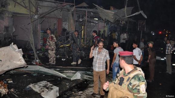 کشته شدن دست کم ۳۵ نفر در حمله انتحاری بغداد