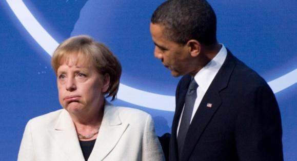 اعتراض مرکل به اوباما درباره 'شنود تلفن شخصی'