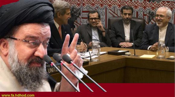 حمله هماهنگ امامان جمعه به آمریکا و مذاکرات تهران و واشینگتن