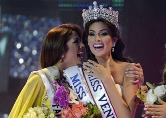 نماینده ونزوئلا، دختر شایسته جهان در سال ۲۰۱۳