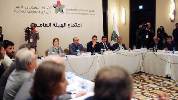 مخالفان سوری دولت در سایه تشکیل دادند