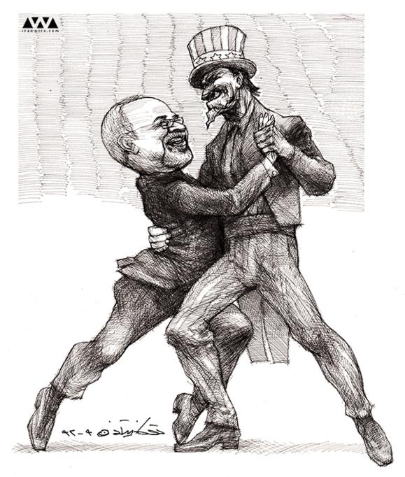 کاریکاتور: تانگوی ظریف...توکا نیستانی