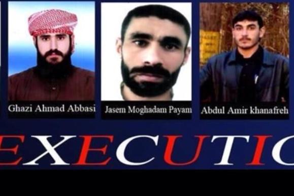 اعدام چهار زندانی سیاسی اهوازی را شدیداً محكوم می كنیم و خواستار واکنش فوری جامعه جهانی هستیم
