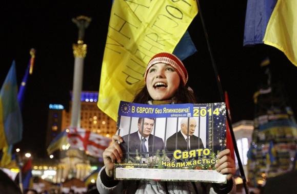 اوکراین در بزنگاه تاریخی: انتخاب میان اتحادیه اروپا و روسیه