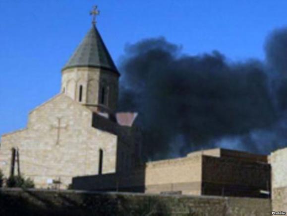 دستکم ۳۵ کشته در انفجارهای مناطق مسیحینشین بغداد