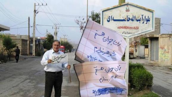 نوریزاد از خامنهای خواست تصور کند ۲۴ روز به پسرش تجاوز شده