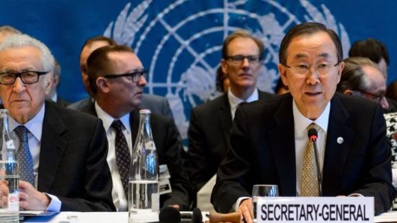 کنفرانس صلح سوریه موسوم به ژنو ۲ در سوییس آغاز به کار کرد