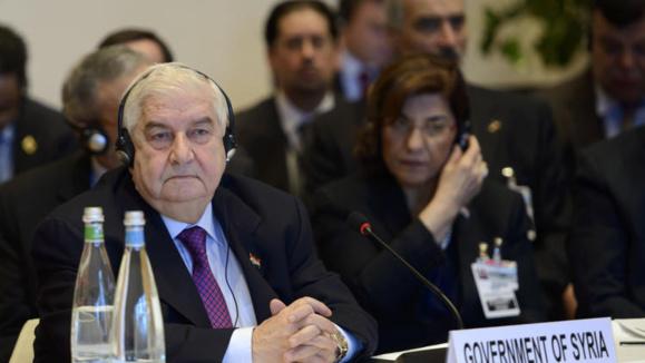 لوران فابیوس، مذاکره کنندگان دولت سوریه را پرخاشگر و غیرمنطقی خواند