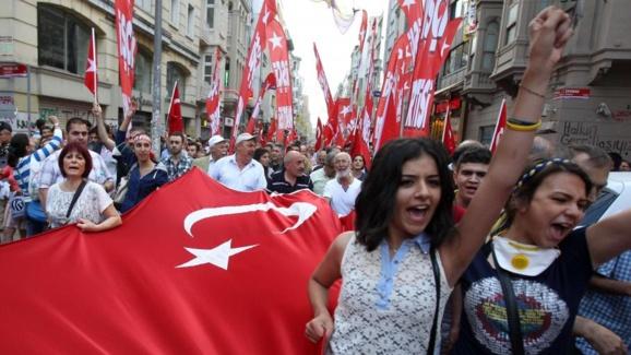 یک کشته در حمله به دفتر انتخاباتی حزب حرکت ملی ترکیه