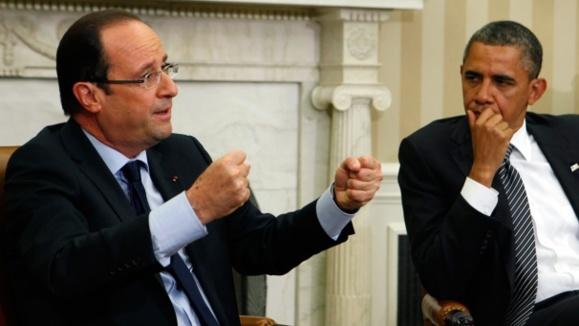 اوباما و اولاند: شرکتها بدانند ایران هنوز تحریم است