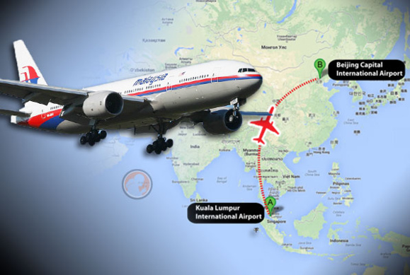 """""""اف بی آی"""" احتمال عملیات تروریستی در هواپیمای مسافربری مالزی را بررسی میکند"""