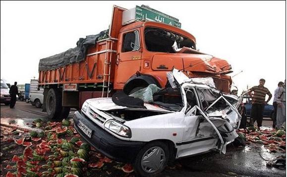 در هر ساعت ۳ نفر بر اثر تصادفات جاده ای در ایران کشته می شوند