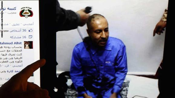 عذر خواهی ساعدی القذافی فرزند رهبر پیشین لیبی از مردم کشورش