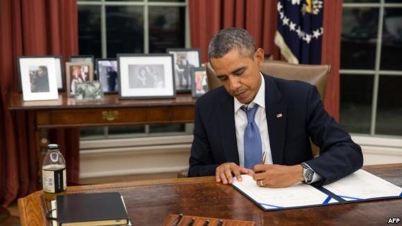 اوباما قانون مربوط به منع صدور ویزا برای ابوطالبی را امضا کرد
