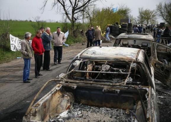 درگیری مسلحانه در اوکراین پیمان آتش بس را نقض کرد