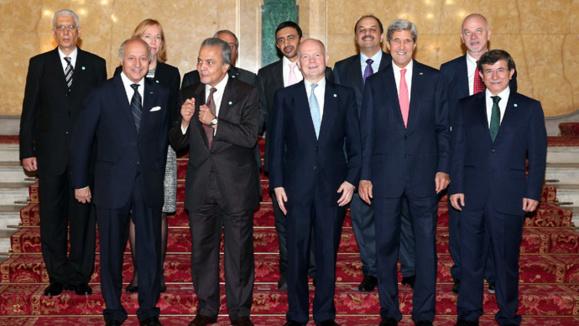 نشست دوستان سوریه در لندن و افزایش کمک به مخالفان اسد