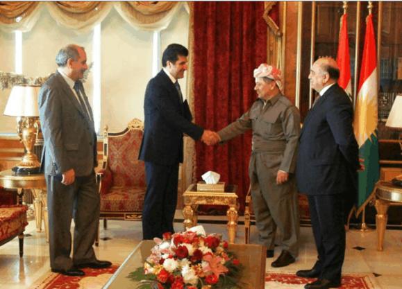 نیچیروان بارزانی مامور  تشکیل هشتمین کابینه اقلیم شبه مستقل کردستان عراق شد