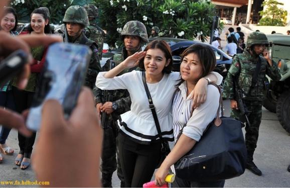 درپی ماه ها بحران سیاسی، ارتش تایلند اداره امورکشوررا دردست گرفت