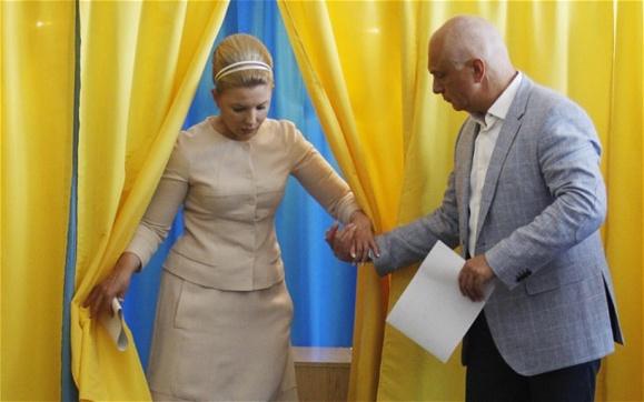 انتخابات ریاست جمهوری در اوکراین برگزار شد