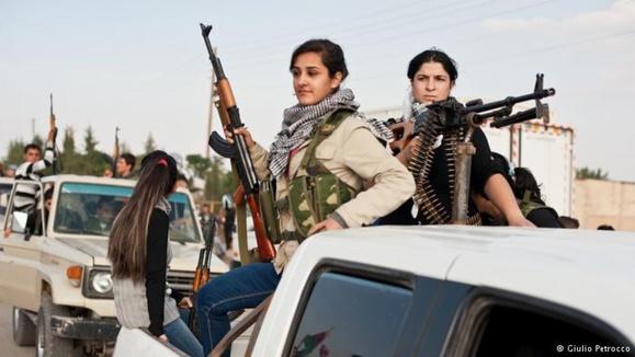 بخشی از شمال سوریه در کنترل گروههای مسلح کرد است