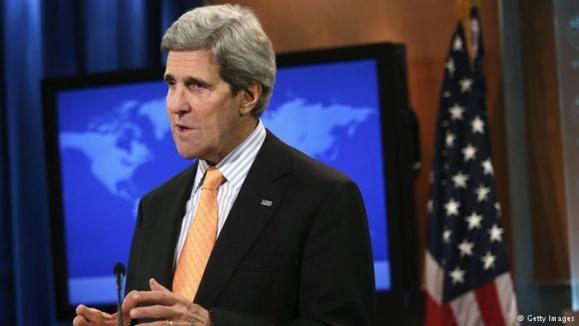 جان کری: انتخابات در سوریه بیمعنا است