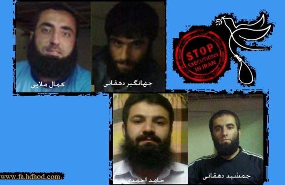 هشدار فعالان حقوق بشر كردستان نسبت به اجرای اعدام فعالان اهل سنت کُرد