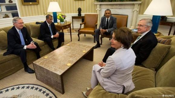 اوباما در دیدار با سران کنگره: دولت عراق مقصر است