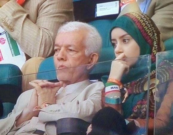 دختر سفیر ایران با حضور در ورزشگاه برزیل قوانین را زیر پا گذاشت