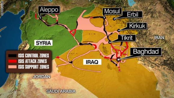 داعش،تصویر جنینی که در حال شکل گیری است